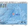 2016年12月21日 03時39分 種子島南東沖でM3.5の地震