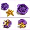 「紫のバラ」に「金のガク」 〜ガーデンローズの新色提案〜