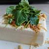 「豆腐レシピ」パクチーとクルミでエスニック風♪