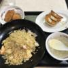 禁酒日のディナー(餃子の王将)