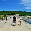 厚幌ダム(建設中)(1)-堤体、天端、監査廊