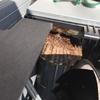 袋井市で室外機の中にできた蜂の巣を駆除してきました!