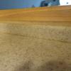 人口大理石のキッチン天板の掃除