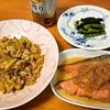 ズッキーニのオイスター炒め (妻料理)