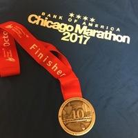 シカゴマラソン2017:完走記