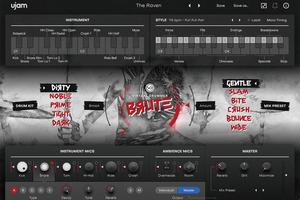 UJAM Virtual Drummer Bruteレビュー:1990年代グランジを再現するドラム音源