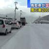 鳥取県智頭町の大雪、車200台が立ち往生。でも、この辺りは元々雪が積もる地域