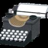 現代に残るタイプライターの文化