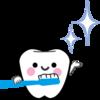 奥歯の乳歯をシーラントしてもらった。