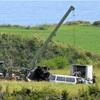 日本側が現場検証できぬまま 米軍、炎上ヘリ撤去に着手