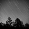 モノクロで描く星の軌跡! ~ついでに星の軌跡一発撮りの設定を確認してみました~