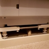 洗濯パンに入らないと言われたドラム式洗濯機はかさ上げ台で解決!