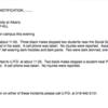 【アメリカの大学】大学に強盗が入ったらしい。犯人は携帯のみを盗んで逃走
