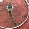 自転車スポークがたくさん折れた。