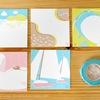 滋賀がモチーフの可愛いマステ「しが旅マスキングテープ」とメッセージカードのセットを使ってみた。