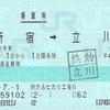 渋谷ヒカリエ発行の乗車券