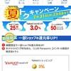 Yahoo!ショッピングで3%還元などCLUB Panasonic coinで夏トクキャンペーン始まりました❗