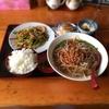 鳳仙閣「青椒肉絲+台湾ラーメン定食」