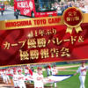 DVD 永久保存版 41年ぶりのカープ優勝パレード&優勝報告会
