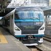 E257系2000番台NA-11編成 長野疎開回送in松本駅(2020年7月19日)