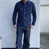 DELUXEWARE ワークとウエスタンの融合シャツ 7614 シャンブレーウエスタンシャツのご紹介です(^^♪