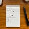 このところ毎日やってる新ルーチン「手書きのToDoリスト」