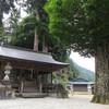 黒滝村の河分神社は戦前の面影残る