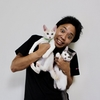 サンシャイン池崎さん 2匹の保護猫を引き取る