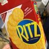 嫁さん、睡眠状態えいな~(゜o゜) / RITZ、素朴な味がGOOD