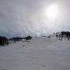 雪山遊び27日目/ハチ北でアルペンボード🏂