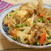 簡単!!ちくわと島豆腐のチャンプルーの作り方/レシピ