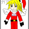 メリークリスマス!オリジナルキャラクターでもクリスマスイラスト描きました!あと、私が聞くクリスマスソングの紹介でも