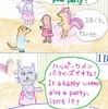 猫ママの一日 「女子会編」🍷🍝🎂
