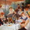 ルノワール 「舟遊びの人々の昼食」 食人の絵