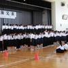 生徒朝会 ~校歌コンクール~