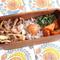 """【糖質54.1g】牛肉とエリンギのバタぽん炒めがメインの""""曲げわっぱ弁当"""""""