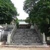山の上にある式内社、高屋(たかやの)神社参拝