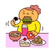 食事制限 がストレスで過食に