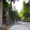 新緑の信州旅行:信州三大神社のひとつ、武水別神社へお参り