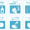 新型コロナウイルスによる感染防止対策について