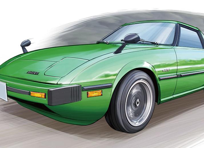 【下野康史の旧車エッセイ】 マツダ・RX-7 他に代え難い回転フィールのエンジン