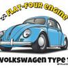 Illustratorで描く「VW・ビートル type1」