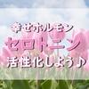 【朝散歩】日常を楽しんで幸せホルモン・セロトニンを活性化しよう!!