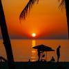美しい夕日を見るならプーケットスリンビーチ。