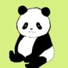 会えてうれしい連休明け パンダのイラスト