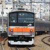《JR東日本》【写真館122】武蔵野線205系最後のネタ枠?元ミツ編成