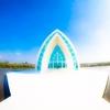 水晶教堂▽北門