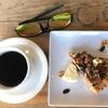 musubiカフェで「いちじくとナッツのタルト」