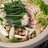 白菜と豚バラと餃子の皮のミルフィーユ鍋