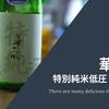 青森のうまい酒/今日は「華一風 特別純米低圧しぼり生」という生酒をいただきました。